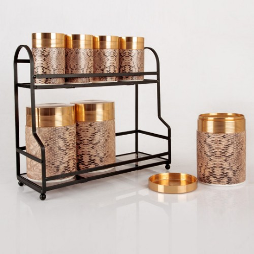 Picture of Bonnie Leopard Spice Set of 7