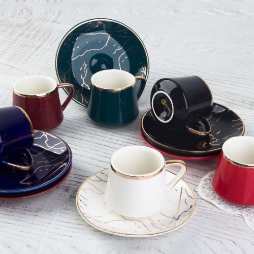 Picture of Cherish Porcelain Turkish Coffee Set
