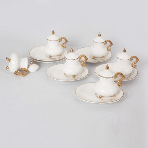 Picture of Freedom Porcelain Turkish Coffee Set