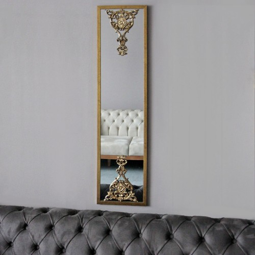 Picture of Lidyana Wall Mirror - Gold