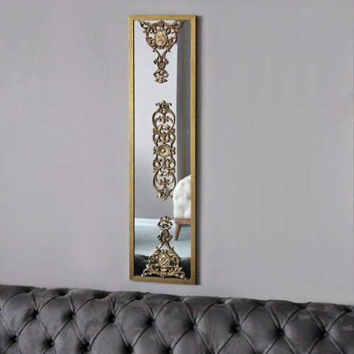 Picture of Lidyana Hub Wall Mirror - Gold