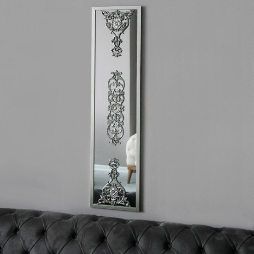 Picture of Lidyana Hub Wall Mirror - Silver