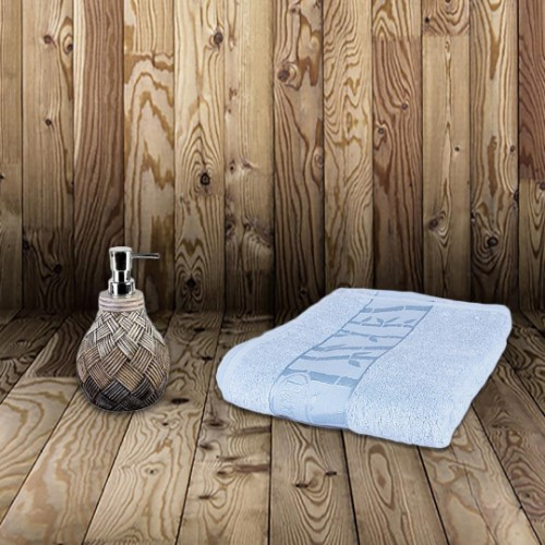 Picture of Matmazel Bamboo Face Towel 50x90 - Blue