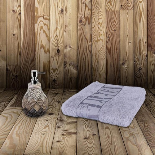 Picture of Matmazel Bamboo Face Towel 50x90 - Damson
