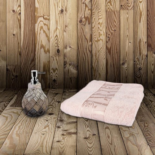 Picture of Matmazel Bamboo Face Towel 50x90 - Pink