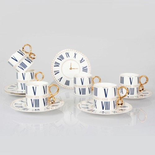 Picture of Roma Porcelain Turkish Coffee Set