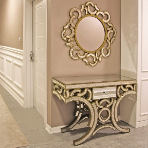 Picture of Yedifil Moon Mirrored Dresser