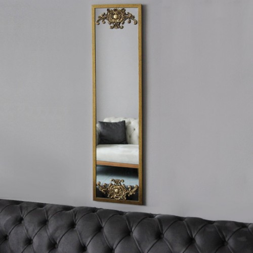 Picture of Letoon Wall Mirror - Gold