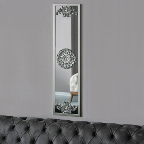 Picture of Letoon Hub Wall Mirror - Silver