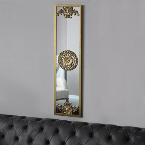 Picture of Letoon Hub Wall Mirror - Gold