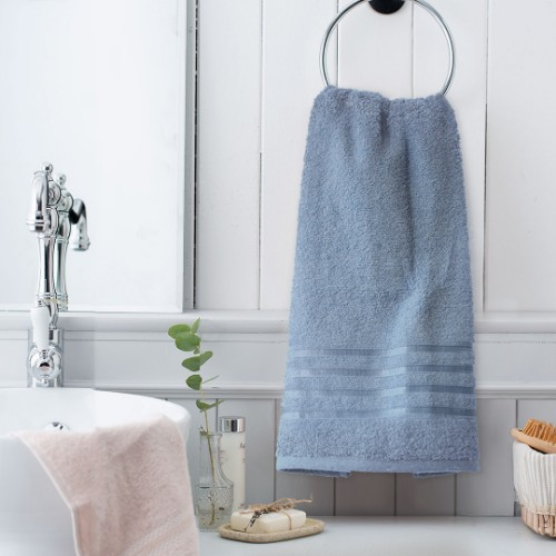 Picture of Matmazel Fourway Face Towel 50x90 cm - Blue