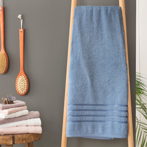 Matmazel Fourway Bath Towel 90x150cm - Blue