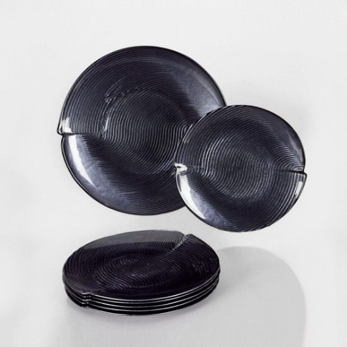Picture of Gobi Pastry Set of 7 - Anthracite