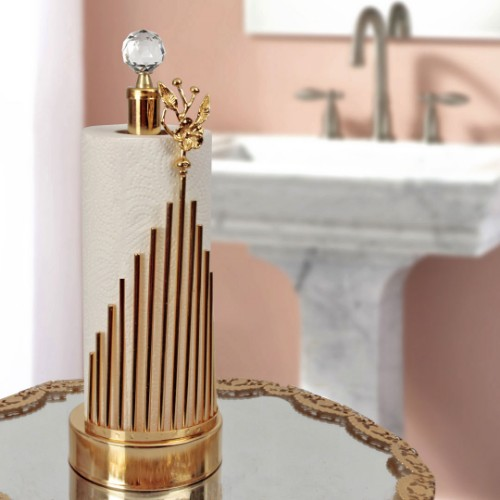 Picture of Hitit Towel Holder - Gold