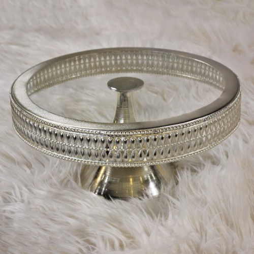 Picture of Drop Cake and Pastry Stand 30cm - Silver