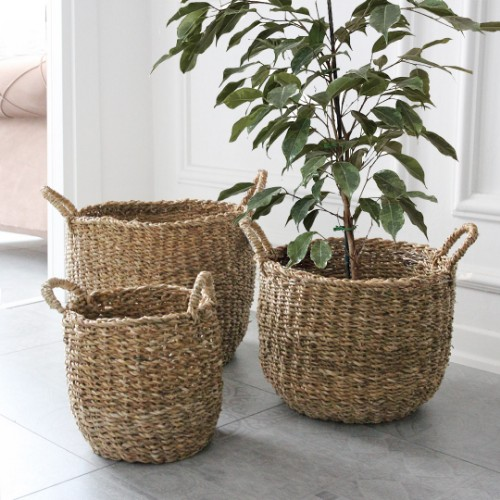 Picture of Wicker 3 lü Hasır Sepet