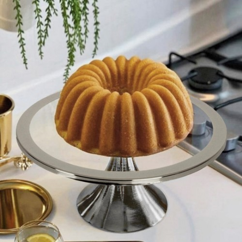 Picture of Thick Cake and Pastry Stand 30cm - Silver